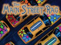 Im on the Cover of a Magazine !!!! : Main Street Rag Winter 2010 : Flower Taxis New York