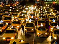 Taxi Pound at LaGuardia Airport : Queens : NYC