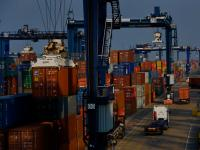 Port of Felixstowe Largest Container Port in the UK : Suffolk : England