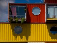 Container City : Trinity Buoy Wharf Docklands :  London