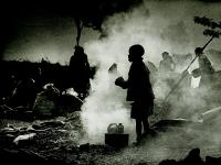 Boy in Smoke : During the time of Genocide : Rwanda
