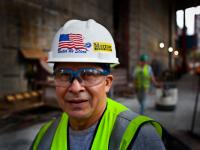 Klebber B Carpenters assistant : Ground Zero : NYC