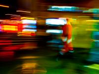 Santa Blur : Miracle on 23rd St : New York City
