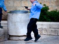 Child with Toy Gun : Jerusalem Old City : Israel
