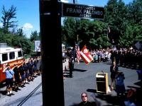 Signs Of Life 9-11 : Streets Renamed to Honor Heroes : Firefighter Frank Palombo  : NYC