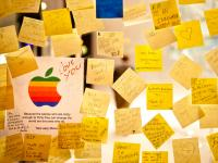 RIP Steve Jobs : Apple Store Meat Packing District : NYC