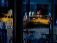 Reflecting on the Diners and the Taxis : Chelsea : NYC