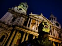 Guy Fawkes Mask : Occupy St  Paul's Cathedral : City of London