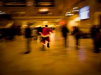 Ever Wonder How Santa Does It All :  Grand Central : NYC