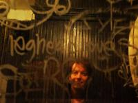 Low Life Jez Coulson Self Portrait : Bowery Bathroom : New York City