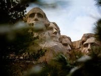 Mount Rushmore : Disapproving Glance : South Dakota