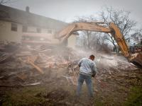Demolition in Detroit : Cheveux Street : Detroit