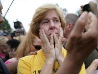 Cindy Sheehan, anti war protest DC