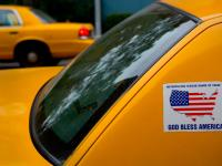 God Bless America Taxi : 23rd and 9th Av : NYC