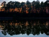 Reflections of a Hidden Sunset : Whittman : Maryland