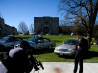 Blood on the Streets : Virginia Tech Campus : Blacksburg Virginia