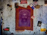 Jesus and Diana of Nebraska : Fire damaged apartment : Lincoln