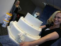 The stylist and the wedding cake, Atlanta