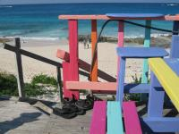 Nipper's Beach Bar; Guana Cay Bahamas