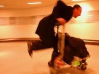 Off His Trolley : London Heathrow : UK