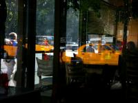 Taxi Floating in my Dreams : Diner 9th Av and 23rd : NYC