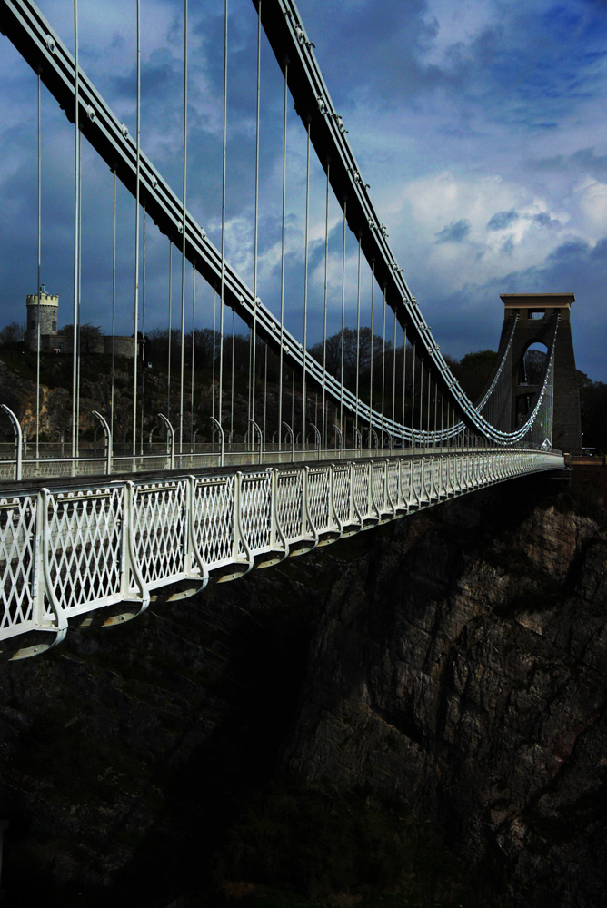 Clifton Suspension Bridge : Bristol : UK