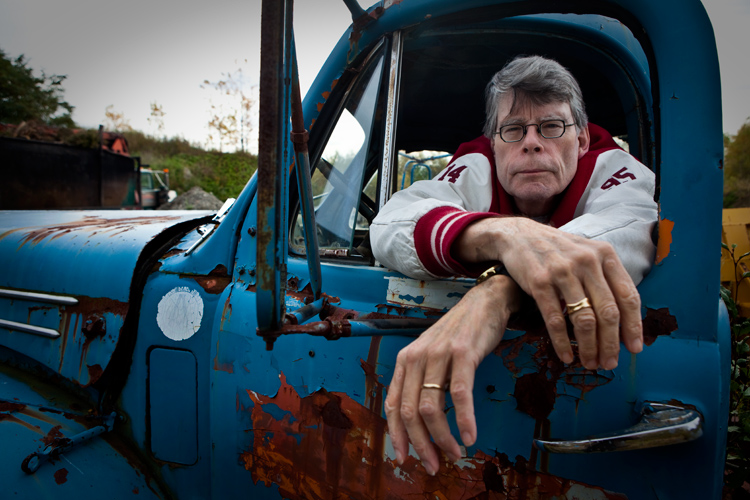 Stephen King Comes Out Against Gun Violence : Maine : USA