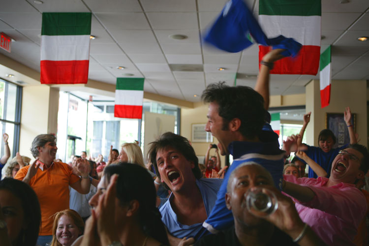 Italy Soccer Champions of the World :  Washington DC