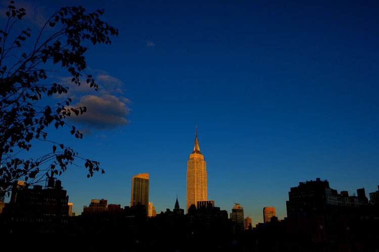 Shining City on the Hill ....sort of : Empire State Building NYC