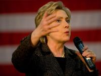 Hillary Clinton Eyes on the Prize : Hackensack : NJ