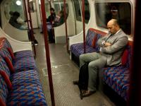Chilled Afternoon on the Tube : Bakerloo Line : London